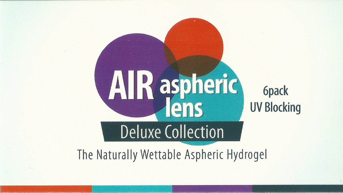 AIR ASPHERIC LENS