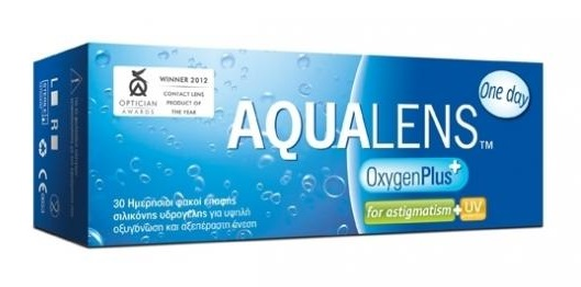 AQUALENS OxygenPlus One Day for Astigmatism