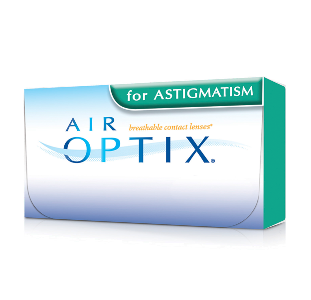 AIR OPTIX AQUA for ASTIGMATISM 3pack