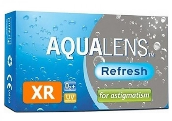 AQUALENS Refresh for Astigmatism XR 3pack