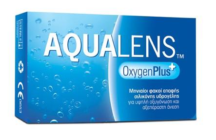 AQUALENS Oxygen Plus 3pack Μυωπίας – Υπερμετρωπίας Μηνιαίοι Φακοί Επαφής