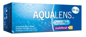 AQUALENS OxygenPlus One Day MultiFocal 30pack