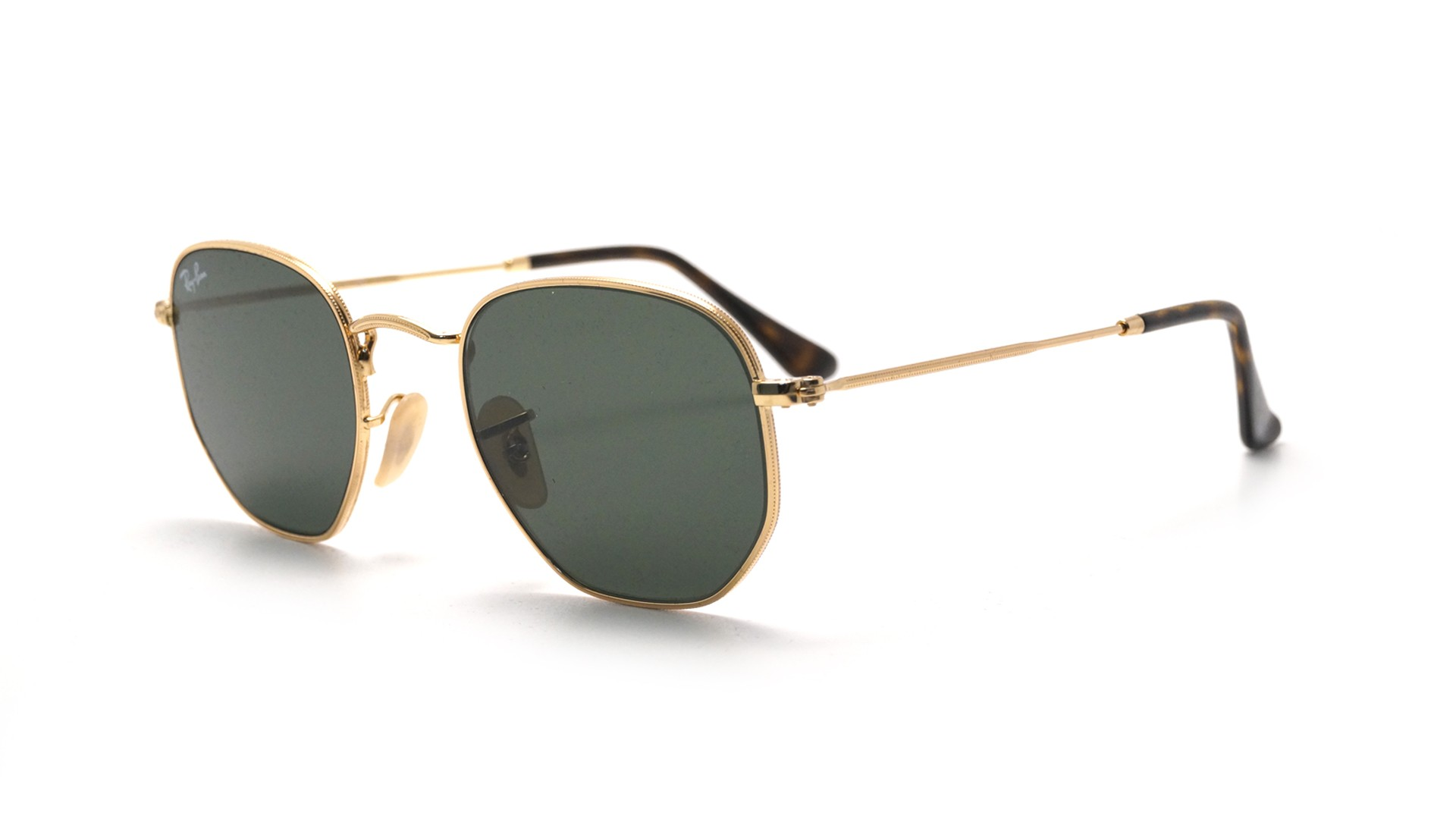 ray-ban-rb3548n-001-51-21-gold-medium-flash